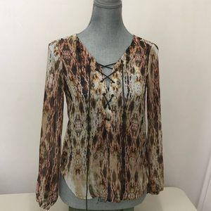 Jessica Simpson boho chic top size extra small